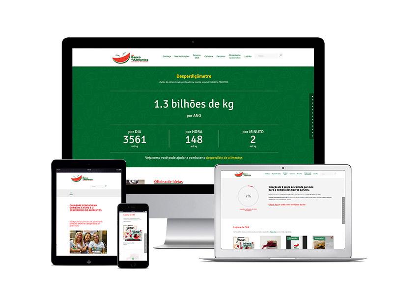 Banco de Alimento Site